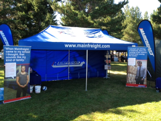 Mainfreight tent