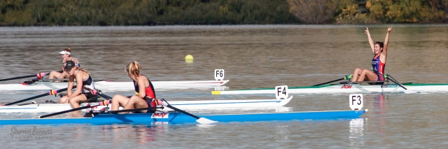Picture of V Wall from ASHB winning her 1X gold
